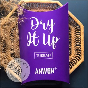 Turban Dry It Up z wiskozy bambusowej Anwen